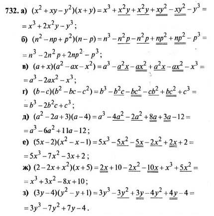 ГДЗ по алгебре 7 класс Макарычев 2012
