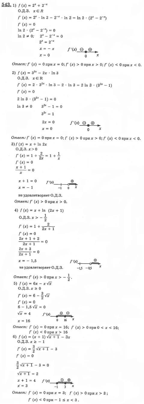 задания класс домашнее алгебре готовые по 10