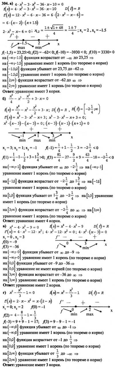 Анализа началу колмогорова алгебре и по решебник