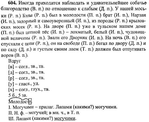 русскому чёрная класс 5 по сочинение языку курица гдз